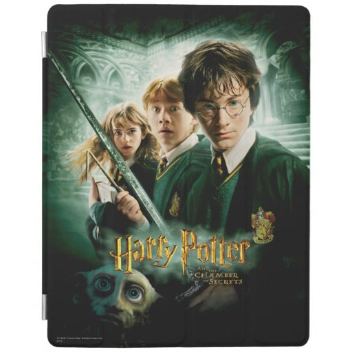 Harry Potter Ron Hermione Dobby Group Shot iPad Cover