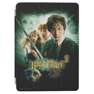 Harry Potter Ron Hermione Dobby Group Shot iPad Air Cover