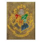 Harry Potter | Rustic Hogwarts Crest Postcard