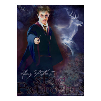 Harry Potter s Stag Patronus Posters
