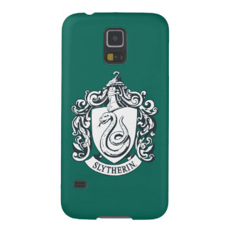 Harry Potter | Slytherin Crest - Black and White Galaxy S5 Cover