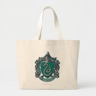 Harry Potter   Slytherin Crest Green Large Tote Bag