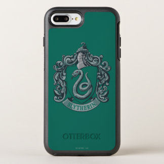 Harry Potter   Slytherin Crest Green OtterBox Symmetry iPhone 7 Plus Case
