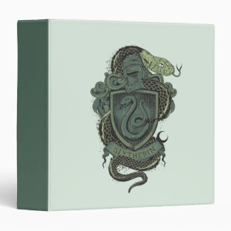 Harry Potter  | Slytherin Crest Vinyl Binder