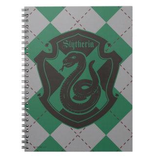 Harry Potter | Slytherin House Pride Crest Notebooks