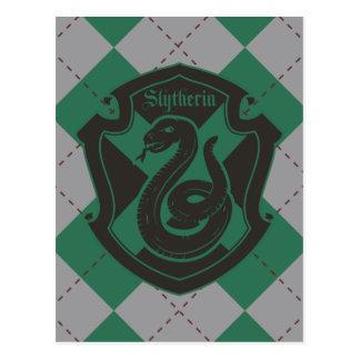 Harry Potter   Slytherin House Pride Crest Postcard