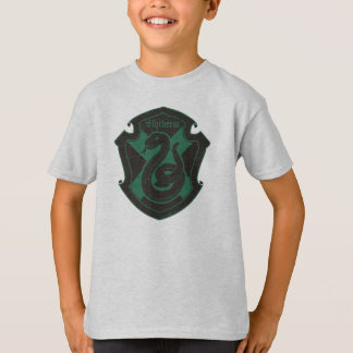 Harry Potter | Slytherin House Pride Crest T-Shirt