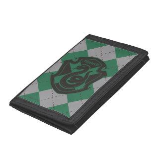 Harry Potter | Slytherin House Pride Crest Tri-fold Wallet