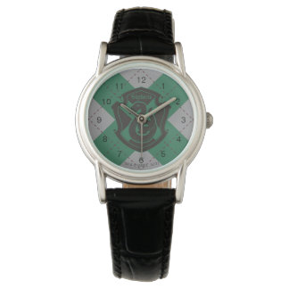 Harry Potter | Slytherin House Pride Crest Watch