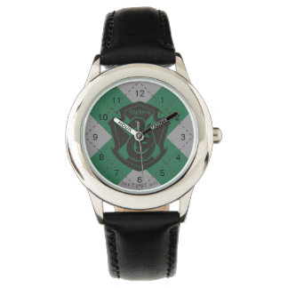 Harry Potter | Slytherin House Pride Crest Wrist Watch