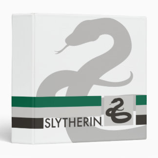 Harry Potter | Slytherin House Pride Graphic 3 Ring Binders