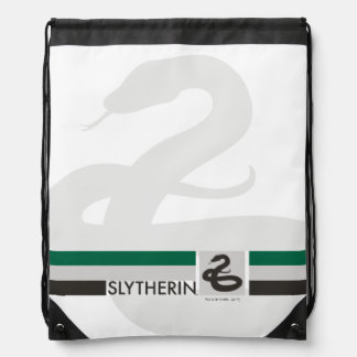 Harry Potter | Slytherin House Pride Graphic Drawstring Bag