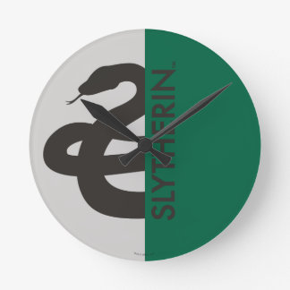 Harry Potter | Slytherin House Pride Graphic Round Clock