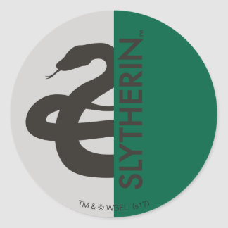 Harry Potter | Slytherin House Pride Graphic Round Sticker
