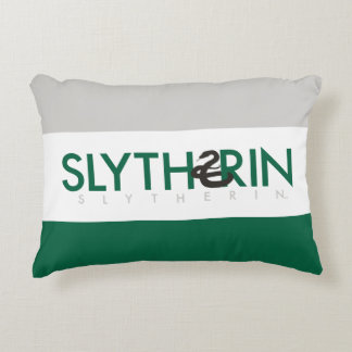 Harry Potter | Slytherin House Pride Logo Accent Pillow