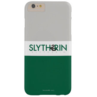 Harry Potter | Slytherin House Pride Logo Barely There iPhone 6 Plus Case