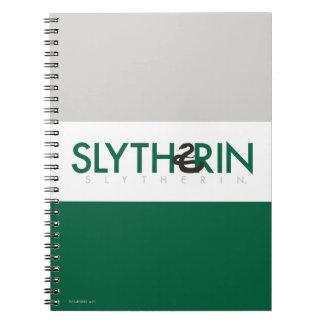 Harry Potter | Slytherin House Pride Logo Notebooks