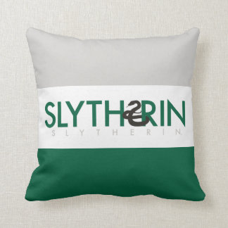 Harry Potter | Slytherin House Pride Logo Throw Pillow