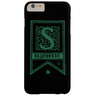 Harry Potter | Slytherin Monogram Banner Barely There iPhone 6 Plus Case