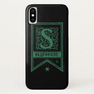 Harry Potter | Slytherin Monogram Banner Case-Mate iPhone Case