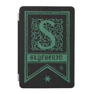 Harry Potter | Slytherin Monogram Banner iPad Mini Cover