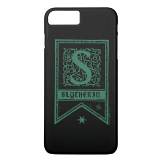 Harry Potter   Slytherin Monogram Banner iPhone 8 Plus/7 Plus Case