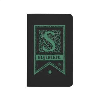 Harry Potter | Slytherin Monogram Banner Journal