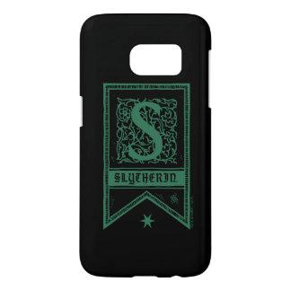 Harry Potter | Slytherin Monogram Banner Samsung Galaxy S7 Case