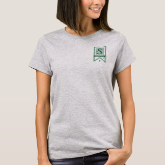 Harry Potter   Slytherin Monogram Banner T-Shirt