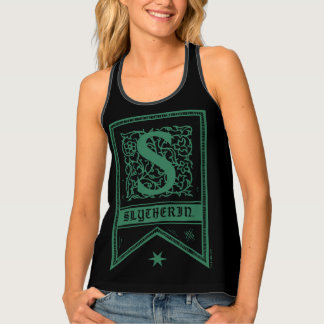 Harry Potter | Slytherin Monogram Banner Tank Top