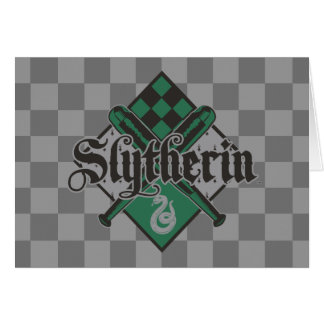 Harry Potter | Slytherin Quidditch Crest Card