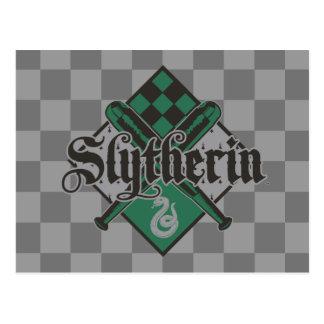 Harry Potter | Slytherin Quidditch Crest Postcard