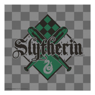 Harry Potter | Slytherin QUIDDITCH™ Crest Poster