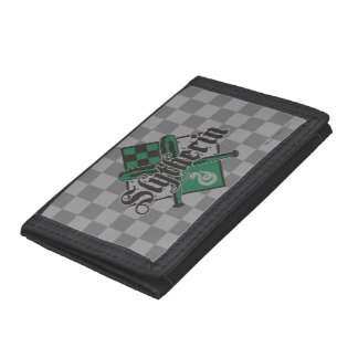 Harry Potter | Slytherin QUIDDITCH™ Crest Tri-fold Wallet