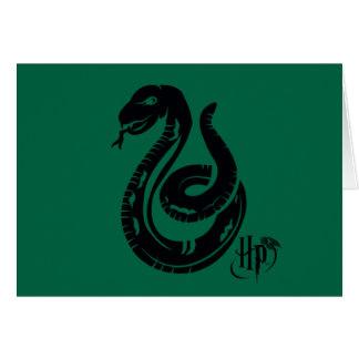 Harry Potter | Slytherin Snake Icon Card