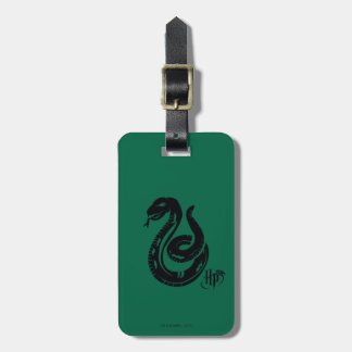 Harry Potter | Slytherin Snake Icon Luggage Tag