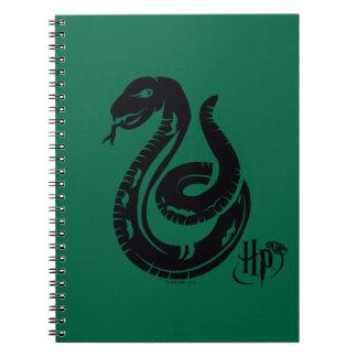 Harry Potter | Slytherin Snake Icon Spiral Note Book