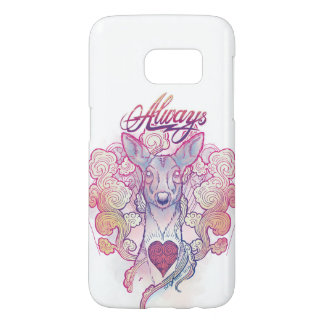 "Harry Potter Spell | ""Always"" Doe Patronus Samsung Galaxy S7 Case"