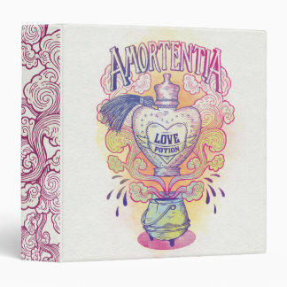 Harry Potter Spell | Amortentia Love Potion Bottle 3 Ring Binders