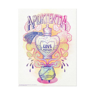 Harry Potter Spell | Amortentia Love Potion Bottle Canvas Print