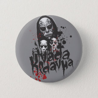 Harry Potter Spell | Death Eater Avada Kedavra 2 Inch Round Button