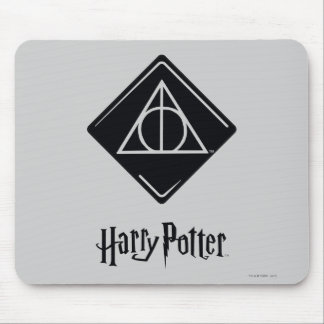 Harry Potter Spell | Deathly Hallows Icon Mouse Pad