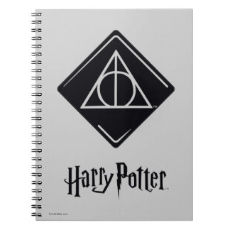 Harry Potter Spell | Deathly Hallows Icon Notebooks