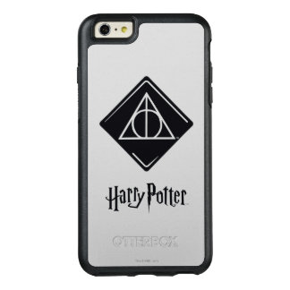 Harry Potter Spell   Deathly Hallows Icon OtterBox iPhone 6/6s Plus Case