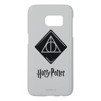 Harry Potter Spell | Deathly Hallows Icon Samsung Galaxy S7 Case