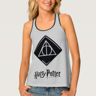Harry Potter Spell | Deathly Hallows Icon Tank Top