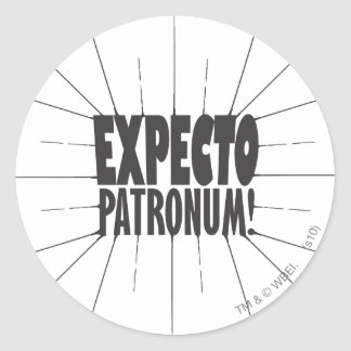 Harry Potter Spell | Expecto Patronum! Classic Round Sticker