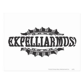 Harry Potter Spell | Expelliarmus! Postcard