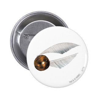 Harry Potter Spell   Golden Snitch 2 Inch Round Button