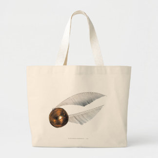Harry Potter Spell | Golden Snitch Large Tote Bag